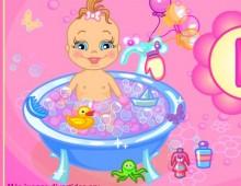 Juegos De Bebes Para Bañar | Banando Al Bebe Juegos De Bebes Vestir